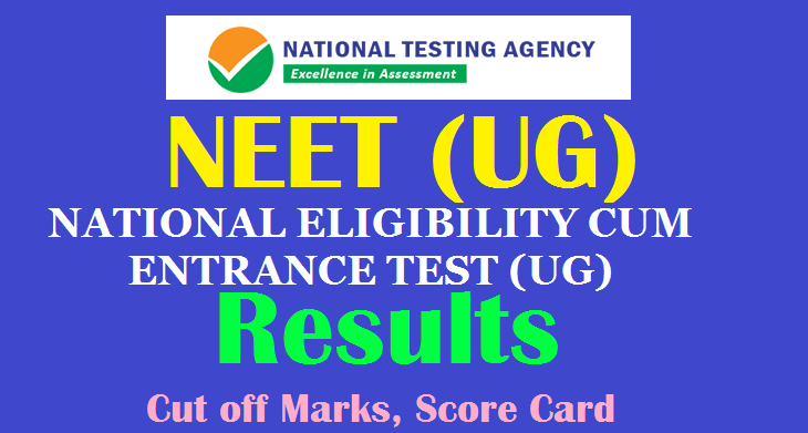 Nta Neet Ug Results 2020 Cut Off Marks Score Card Counselling Dates Ntaneet Nic In Teachersbuzz
